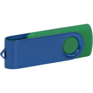 """Reklamní předmět """"Flashdisk USB 3.0"""" v barevné variantě tmavě šedá/ocelově modrá"""