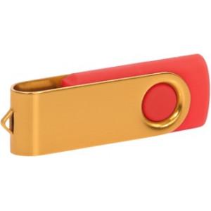 """Reklamní předmět """"Flashdisk USB 3.0"""" v barevné variantě zlatá/červená"""