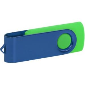 """Reklamní předmět """"Flashdisk USB 3.0"""" v barevné variantě tmavě šedá/žlutozelená"""