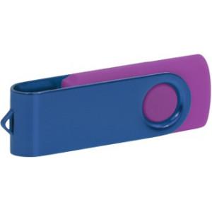 """Reklamní předmět """"Flashdisk USB 3.0"""" v barevné variantě tmavě šedá/fialová"""