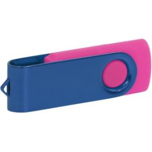 """Reklamní předmět """"Flashdisk USB 3.0"""" v barevné variantě tmavě šedá/růžová"""