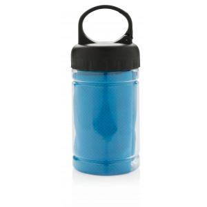 """Reklamní předmět """"Chladící ručník"""" v barevné variantě modrá"""