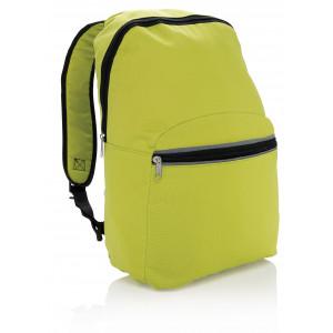"""Reklamní předmět """"Batoh s reflexními prvky"""" v barevné variantě zelená"""